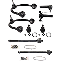 Control Arm Kit - Front, Driver and Passenger Side, Set of 8