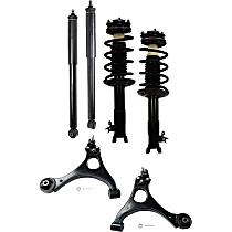 Control Arm Kit - Front and Rear, Driver and Passenger Side, Set of 6