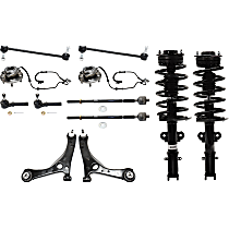 Control Arm Kit - Front, Driver and Passenger Side, Set of 12