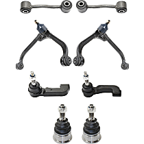Control Arm Kit - Front, Driver and Passenger Side, Upper, Set of 8