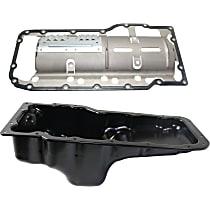 Replacement Oil Pan Gasket and Oil Pan Kit