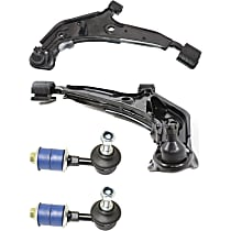 Control Arm and Sway Bar Link Front Driver and Passenger Side