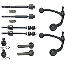 Ball Joint, Tie Rod End, Sway Bar Link and Control Arm Kit