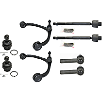Control Arm with Ball Joint and Tie Rod End Front Driver and Passenger Side
