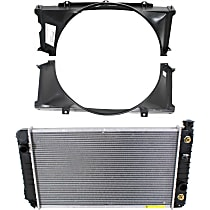 Radiator, 4.3L, Without Engine Oil Cooler, With Fan Shroud