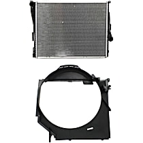 Fan Shroud and Radiator Kit