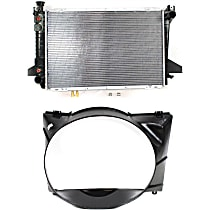 Replacement Fan Shroud and Radiator Kit