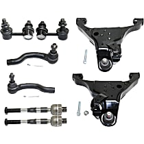 Sway Bar Link, Control Arm and Tie Rod End Kit