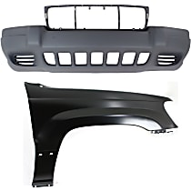 Fender - Front, Passenger Side, with Front Bumper Cover