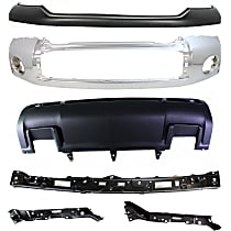 Bumper, Bumper Cover, Valance and Bumper Retainer Kit
