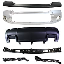 Replacement Valance, Bumper Cover, Bumper and Bumper Retainer Kit