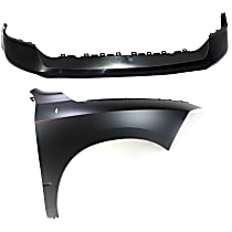 Fender - Front, Passenger Side, with Front Upper Bumper Cover
