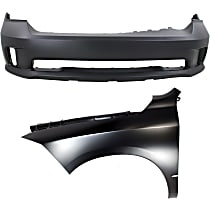 Fender - Front, Driver Side, with Front Bumper Cover