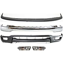 Replacement Valance, Bumper, Bumper Filler and Turn Signal Light Kit