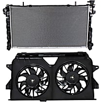 Radiator, with Fan Shroud