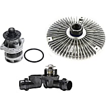 Fan Clutch, Thermostat Housing and Water Pump Kit