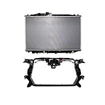 Radiator, Includes Radiator Support