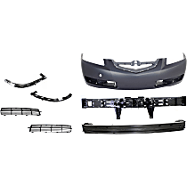 Bumper Absorber, Bumper Cover, Bumper Retainer, Bumper Reinforcement and Grille Assembly Kit