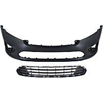 Bumper Cover - Front, CAPA Certified, with Grille Assembly