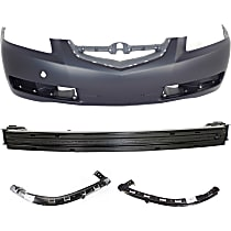 Replacement Bumper Reinforcement, Bumper Cover and Bumper Retainer Kit