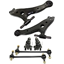 Sway Bar Link, Ball Joint And Control Arm Kit