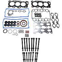 Replacement KIT1-013119-01-A Engine Gasket Set - Direct Fit, Kit