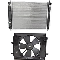 Radiator, with Fan and Shroud