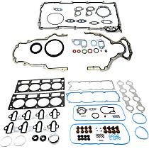 Replacement KIT1-013119-45-B Lower Engine Gasket Set - Set of 2