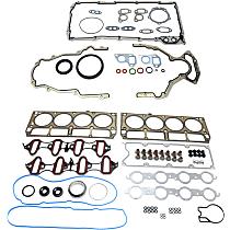 Replacement KIT1-013119-47-B Lower Engine Gasket Set - Set of 2