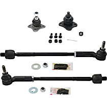 Tie Rod Assembly - Front, Driver and Passenger Side, 4-Piece Kit