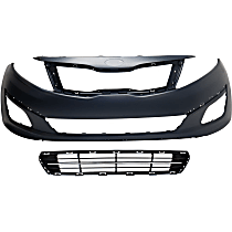 Grille Assembly, Bumper Cover and Bumper Grille Kit