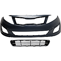 Replacement Grille Assembly, Bumper Cover and Bumper Grille Kit