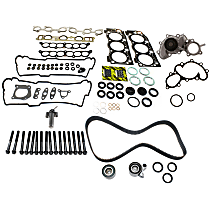 Timing Belt Kit, Hydraulic Timing Belt Actuator, Head Gasket Set, Water Pump and Cylinder Head Bolt Kit