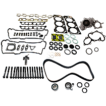Replacement Timing Belt Kit, Hydraulic Timing Belt Actuator, Head Gasket Set, Water Pump and Cylinder Head Bolt Kit