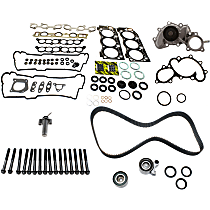 Head Gasket Set, Hydraulic Timing Belt Actuator, Water Pump, Timing Belt Kit and Cylinder Head Bolt Kit