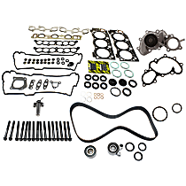 Replacement Hydraulic Timing Belt Actuator, Head Gasket Set, Water Pump, Timing Belt Kit and Cylinder Head Bolt Kit