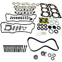 Head Gasket Set, Timing Belt Kit and Cylinder Head Bolt Kit