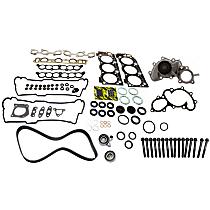 Timing Belt Kit, Head Gasket Set, Water Pump and Cylinder Head Bolt Kit