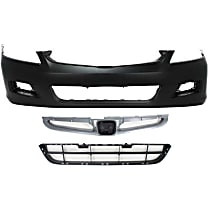Bumper Cover, Bumper Grille and Grille Assembly Kit