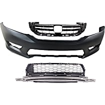 Bumper Grille, Bumper Cover and Grille Assembly Kit