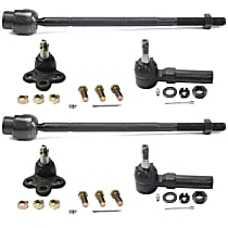Ball Joint - Front, Driver and Passenger Side, Inner and Outer, Lower