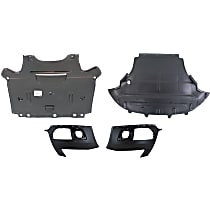 Replacement Bumper Cover and Engine Splash Shield Kit