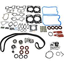 Head Gasket Set, Water Pump and Timing Belt Kit