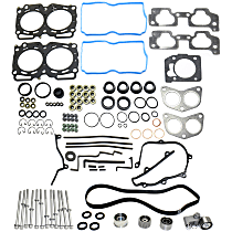 Replacement Head Gasket Set, Timing Belt Kit and Cylinder Head Bolt