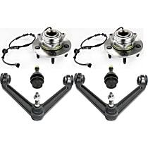 Control Arm, Wheel Hub and Ball Joint Kit
