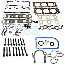 Head Gasket Set, Lower Engine Gasket Set and Cylinder Head Bolt Kit