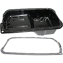 Replacement KIT1-022415-13-A Oil Pan Gasket - Rubber, Direct Fit, Set of 2