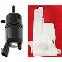 Replacement KIT1-022415-19-B Washer Pump - Direct Fit, Kit