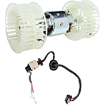 Blower Motor and Blower Motor Resistor Kit - Direct Fit