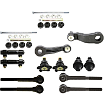 Tie Rod End - Front, Driver and Passenger Side, Inner and Outer